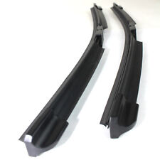"""Fits Renault Megane Scenic MPV 24"""" / 16"""" Front Aero Flat Jointless Wiper Blades"""