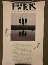 Puris / Pvris Poster signiert / signed / autograph