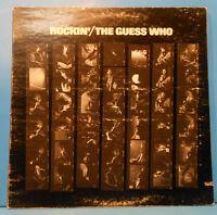 THE GUESS WHO ROCKIN' VINYL LP 1972 ORIGINAL PRESS GREAT CONDITION! VG+/VG!!A