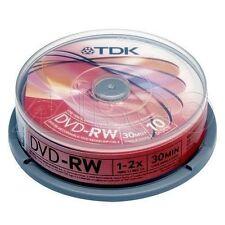 Cintas y discos de videocámara TDK