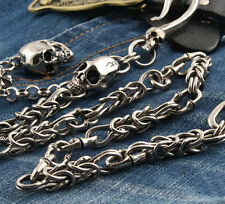 Gothic Skull Pendant Biker Jeans Wallet Key Chain CS33