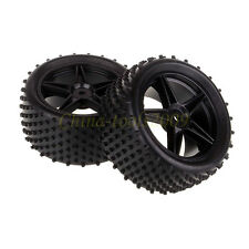 RC 1/10 Off Road Buggy Rear Wheel Rim & Tyre,Tires Fit HSP HPI Redcat 06026