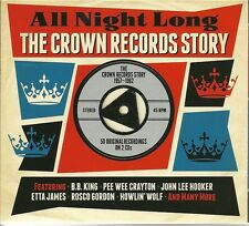 ALL NIGHT LONG THE CROWN RECORDS STORY 1957 - 1962 - 2 CD BOX SET