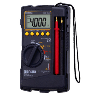 Sanwa Digital Multimeter CD800a - Japan