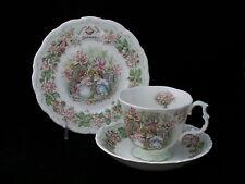 Royal Doulton England Brambly Hedge 3 Pcs Tea Set