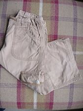 Boys MINI BODEN shorts - age 7/8 - light brown