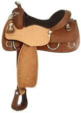 16.5 Inch Western Training Saddle - Royal King - Shelby Trainer