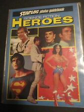 Vintage October 1980 Science Fiction Heroes Star Wars Trek Wonderwoman 411A