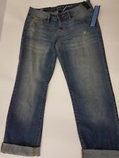 Apt. 9 Boyfriend Crop Modern Fit Women's Cropped Jeans Size 4 NWT