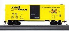 HO Scale - 41' Steel Boxcar, Railbox RBOX - MAN-734231
