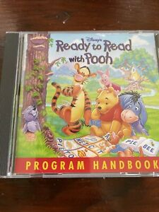 DISNEY'S READY TO READ WITH POOH CD ROM / SOFTWARE / PROGRAM MANUAL