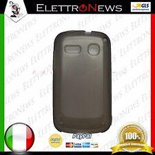 Custodia cover tpu per Alcatel POP C3 trasparente nero