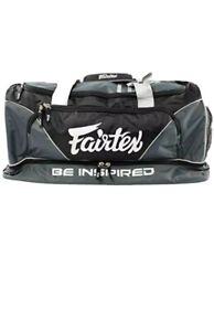 Fairtex  Gym Bag Shoulder Bag  BAG-2 Black  Gray Equipment Muay Thai MMA K1