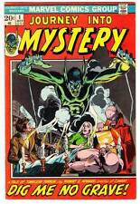 1972 Marvel Comic JOURNEY INTO MYSTERY #1 - Gil Kane, Jim Starlin, Mike Ploog