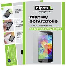 2x dipos Samsung Galaxy S5 mini matte Displayschutzfolie Antireflex Testsieger