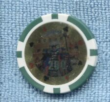 200 Casino Chip no cash value Clubs Hearts Spades Diamonds T-330