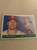 2020 Topps Archives J.T. REALMUTO 1955 Style Base Card Phillies Potential MVP