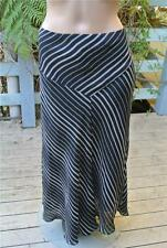 TARGET Diagonal Cut Black & White SKIRT Size 18 Front Slit NEW RRP$49.99 NWOT