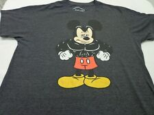 New listing Disney Mickey Mouse  Bodybuilder Workout Gym Graphic T-Shirt Size Large (42-44)