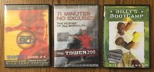 Work Out DVDs Lot of 3 - Beachbody, Billy's Blanks Bootcamp, and Body by Jake