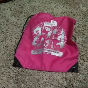 Race For Life Cancer Bag Pink 20th Anniversary