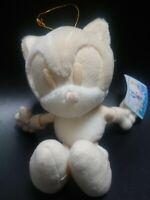 SEGA Sonic The Hedgehod Plush  Pale color White Sonic 1998 Japan Vintage RARE