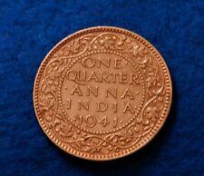 1941 C India 1/4 Anna - Fantastic Coin - SEE PICS