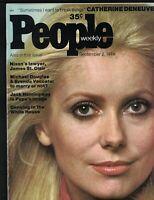 People Magazine September 2 1974 Catherine Deneuve Dr Demento Steve Blass