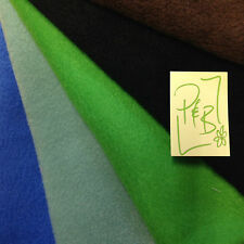 Polar Fleece Fabric antipil 25 Colours Fat Quarter 50x56cm - Meter 100x150cm