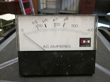 Cutler-Hammer AC Amp Control Meter 0-400A Range Used