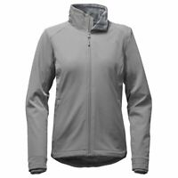 The North Face Womens Lisie Fall Water Repellent Fleece Jacket Mid Grey