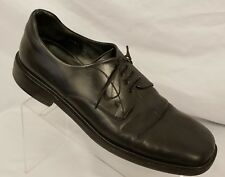 Mezlan Mens Lace Up Shoes Sz 11.5 Louvre Black Leather Split Toe Formal Oxford