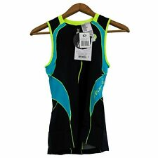 Pearl Izumi Tri Singlet Sz L Womens Bike Gear ELITE InRcool Black Blue New