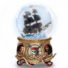 Pirates of the Caribbean Ship Black Pearl Disney Water Globe Snowdome