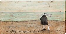 Sam Toft Enjoying our Special Place Large Canvas Print 50x100cm