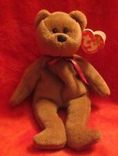 Ty Beanie Baby Teddy 4th Generation Hang Tag #4050 1995  PVC Filled