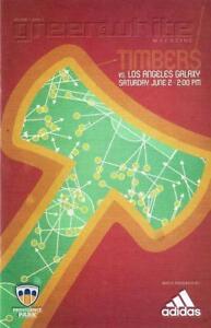 Portland Timbers 'Green & White' MLS Soccer/Football Program Volume 7, Issue 5