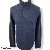 Fat Face Jumper Winter Pullover Excellent Condition Size Medium Mens 58% Wool