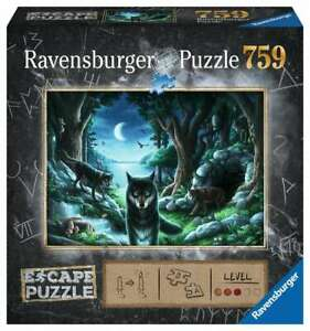 Escape 7 The Curse of the Wolves 759pc Jigsaw Puzzle