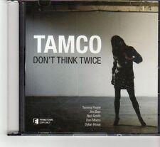(FR519) Tamco, Don't Think Twice - 2010 DJ CD