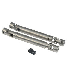 2x Speed Steel Center Drive Shaft 100-140mm For Axial SCX10 1/10 RC Car Crawler