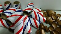 25-pc KIT 1/4 Stick Fireworks Red/White/Blue PYRO Tubes / End Plugs / Other