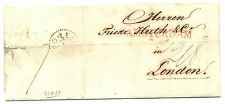 NEDERLAND 1826-01-10  AMSTERDAM-LONDON   -AMSTERDAM GRENSSTEMPEL- VIA DEN BRIEL