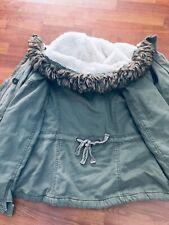 Hollister Women's Parka Jacket / outwear by Abercrombie Fitch Large