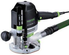 Festool of 1400 EBQ-Plus GB 240v Tuffo router in Systainer - 574345