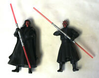 Darth Maul Star Wars Episode 1 Action Figure Toy Set Lot 1999 Hasbro Pair BL834