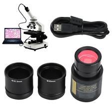 5.0MP Microscope Electronic Eyepiece USB Digital CMOS Camera Accessories Set SG