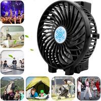 Mini Portable Outdoor USB Rechargeable High Power 3-Speed Desktop Fan Shopping