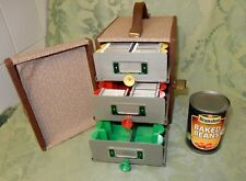 Vintage Hanimex Slidex 3 Drawer Double Sided Slide Carrying Case