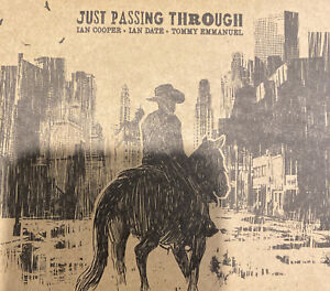 Ian Cooper - Just Passing Through CD Signed By Tommy Emmanuel 2015 N/Mint